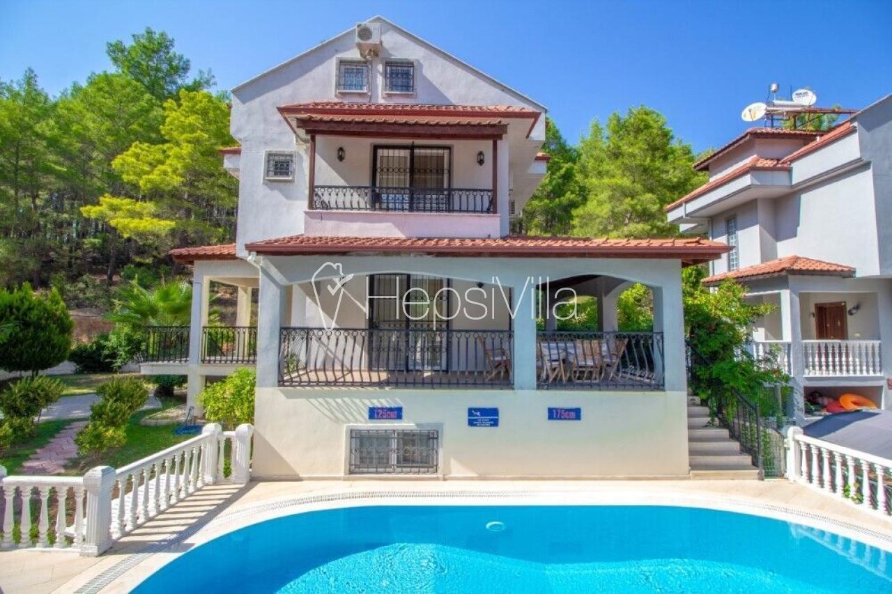 Villa Brookland Paris , Fethiye-Ovacık Bölgesinde Tatil Villası  - Hepsi Villa