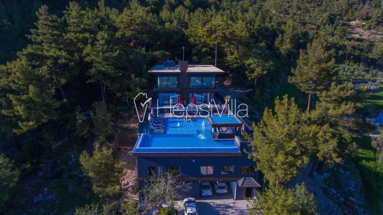 Villa Konak Adbos, Kalkan İslamlar'da 6 Kişilik Lüks Özel Villa - Hepsi Villa