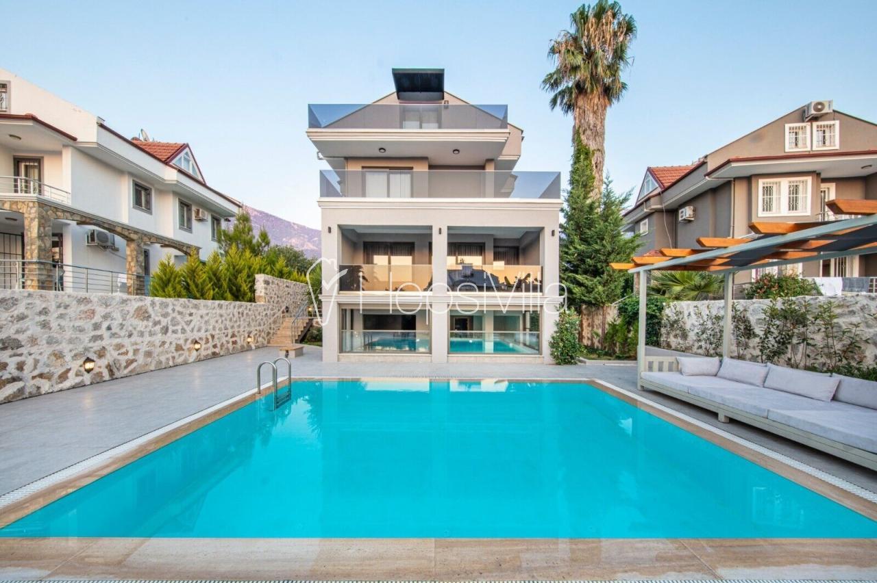 Villa Luna, Hisarönünde 3 Odalı Kapalı Havuzlu Hamamlı Villaa - Hepsi Villa