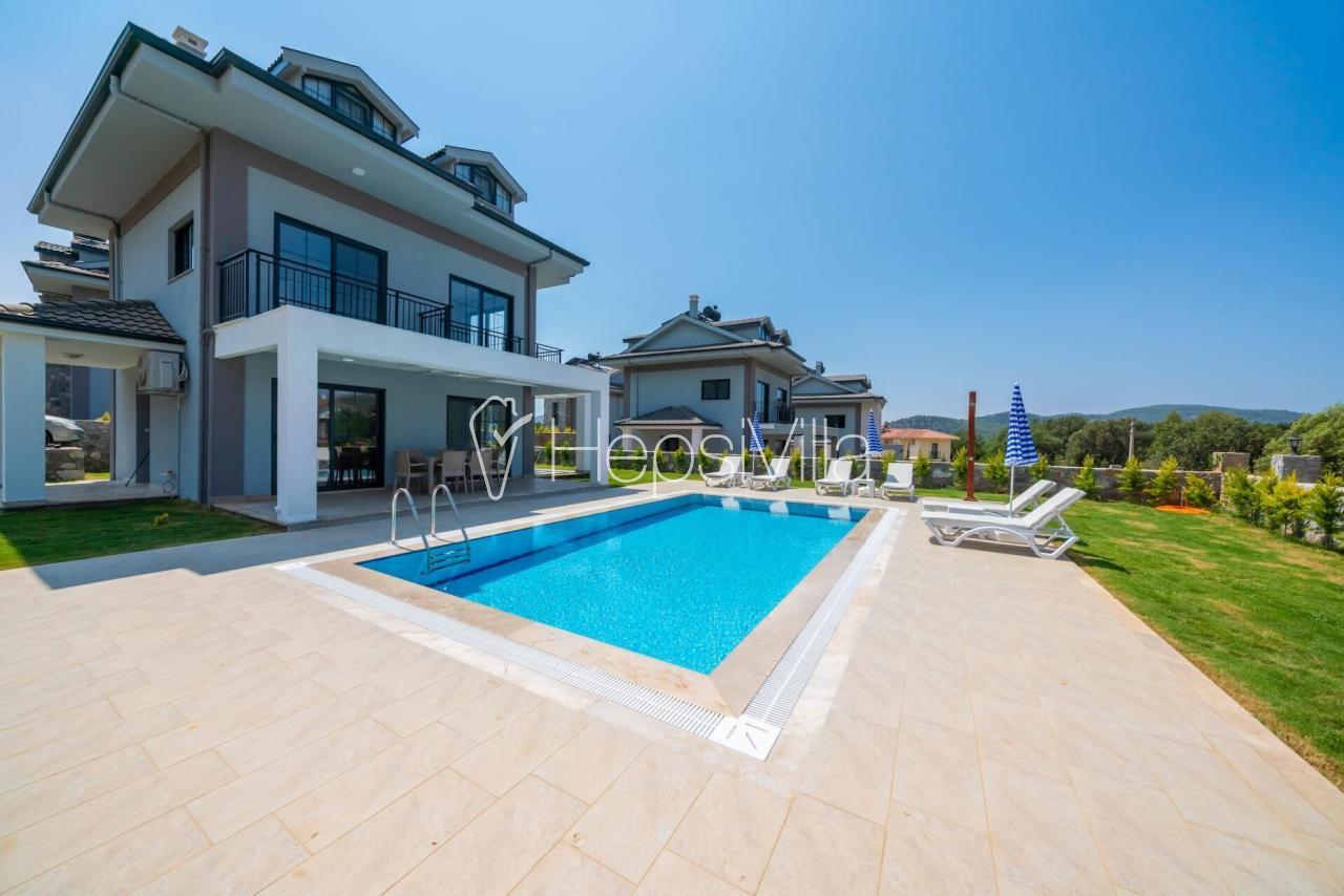 Villa Era 3, Ovacık'ta 4 Odalı Özel havuzlu Tatil Villası - Hepsi Villa