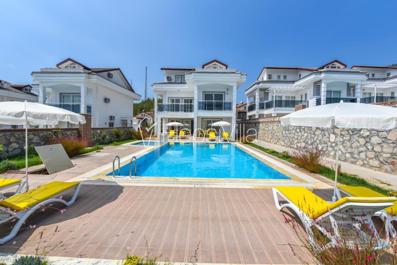 Villa Bera 2, Fethiye Ovacık'da 8 Kişilik Özel Havuzlu Villa - Hepsi Villa