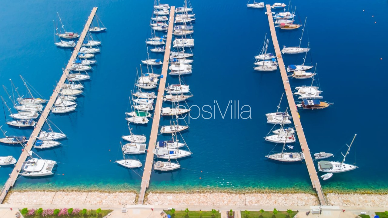 Villa Marin Kaş Merkezde Deniz Manzaralı Villa - Hepsi Villa