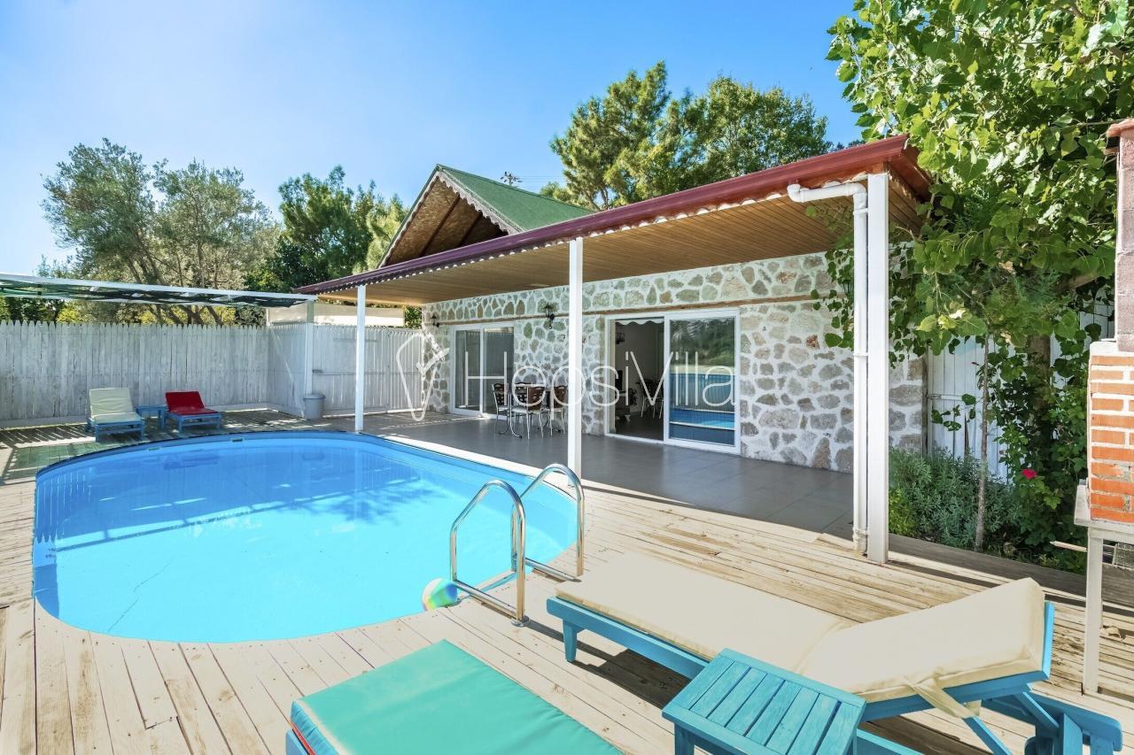 Villa Tema, Kalkan İslamlar'da 4 Kişilik Özel Havuzlu Villa - Hepsi Villa