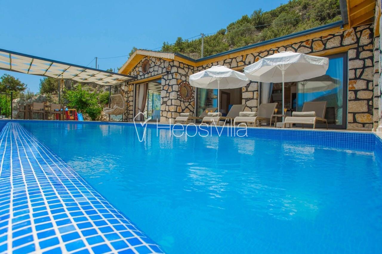 Villa Rock, Kalkan-İslamlar'da Konumlu Tatil Villası - Hepsi Villa