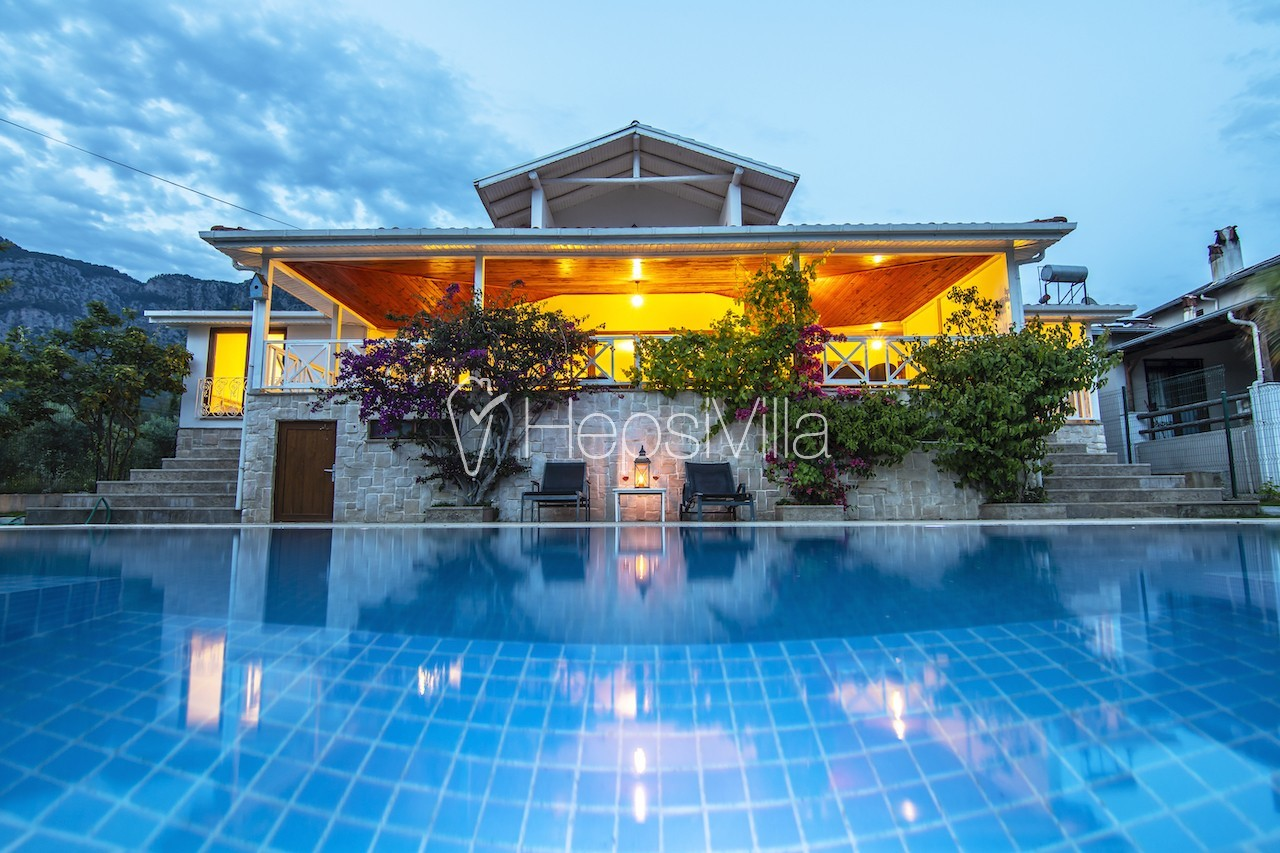 Villa Olive House, Köyceğiz'de 8 Kişilik Korunaklı Villa - Hepsi Villa