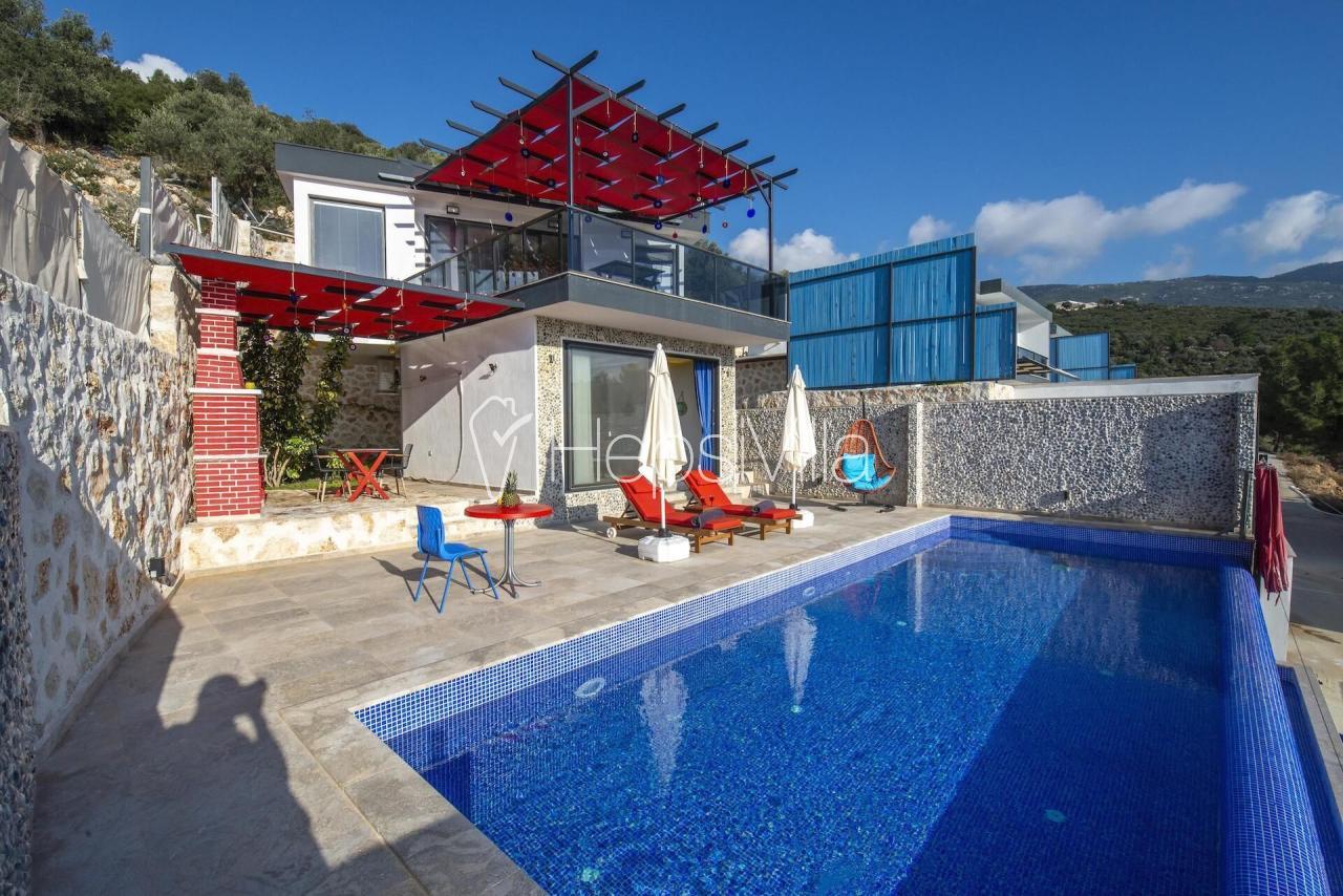 Villa Tadım, Kalkan Üzümlü Köyü'nde 2 kişilik Balayı Villası - Hepsi Villa