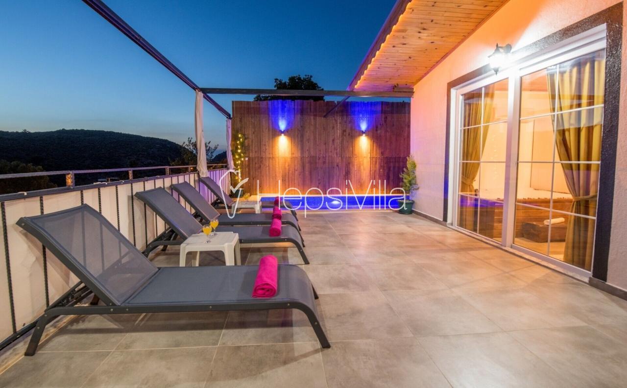 Villa Sema Sunset, Patara'da Korunaklı Jakuzili 4 Kişilik Villa - Hepsi Villa