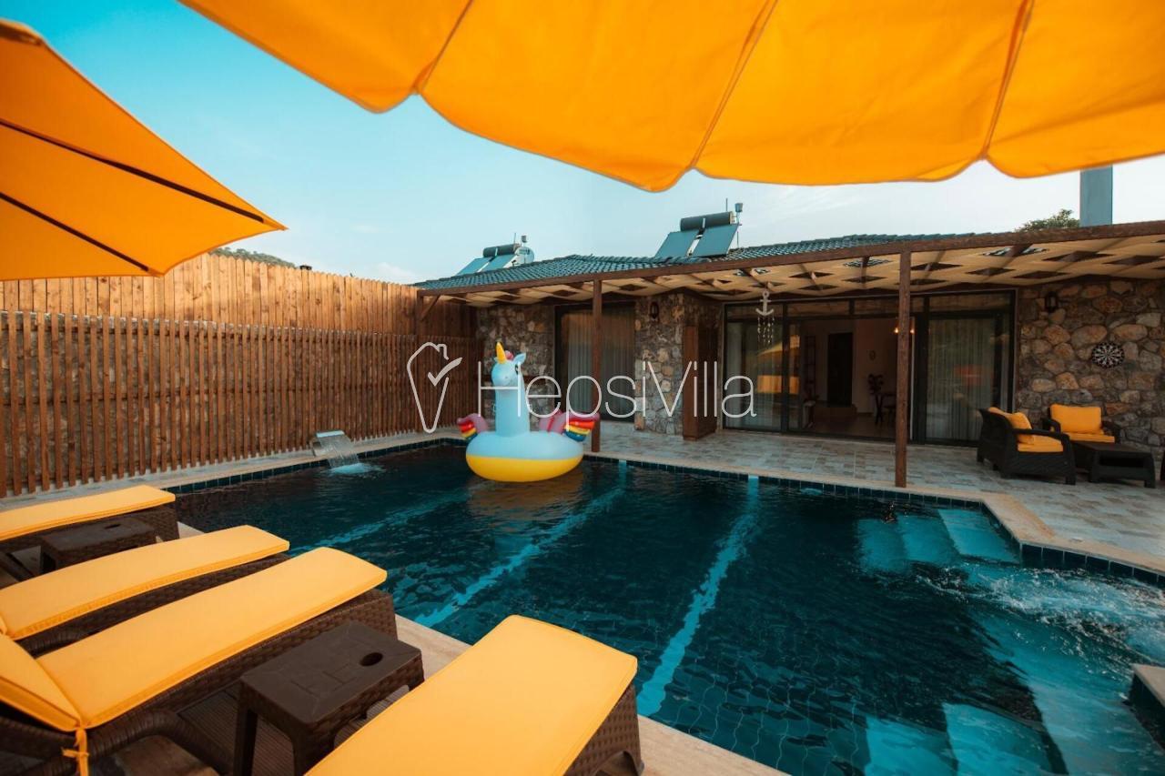 Villa Selenay 2, Fethiye Kayaköy'de Jakuzili Korunaklı Villa - Hepsi Villa