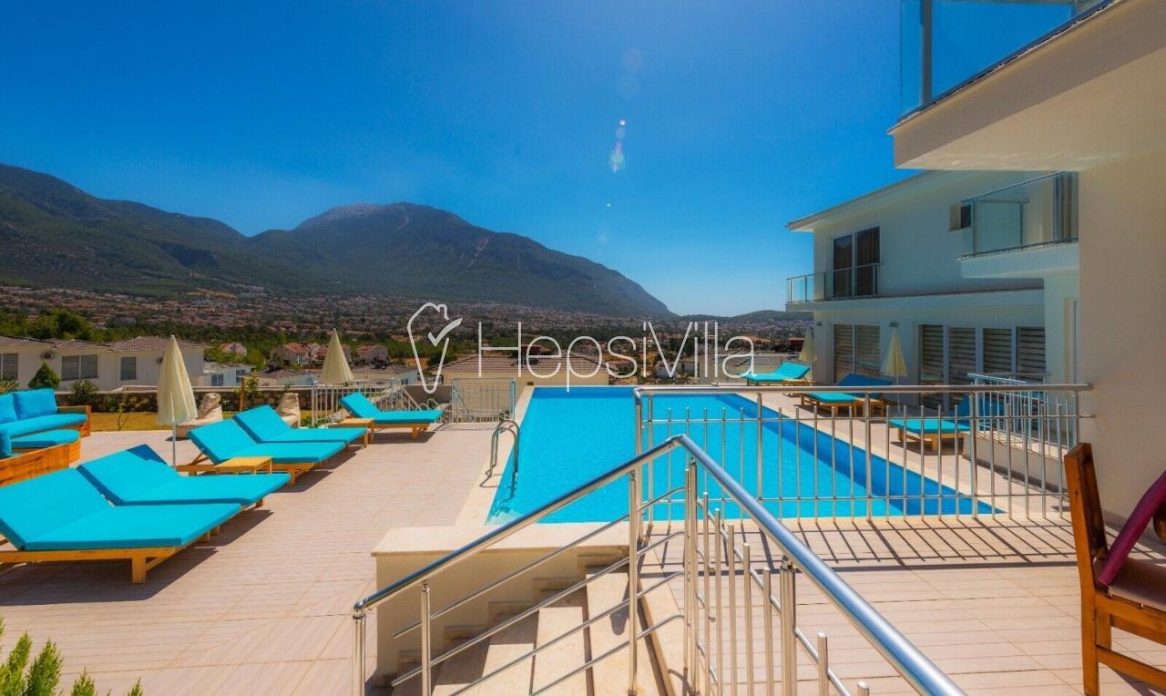 Villa Residence Ovacıkta 12 kişilik 6 Odalı Özel Havuzlu  Villa. - Hepsi Villa