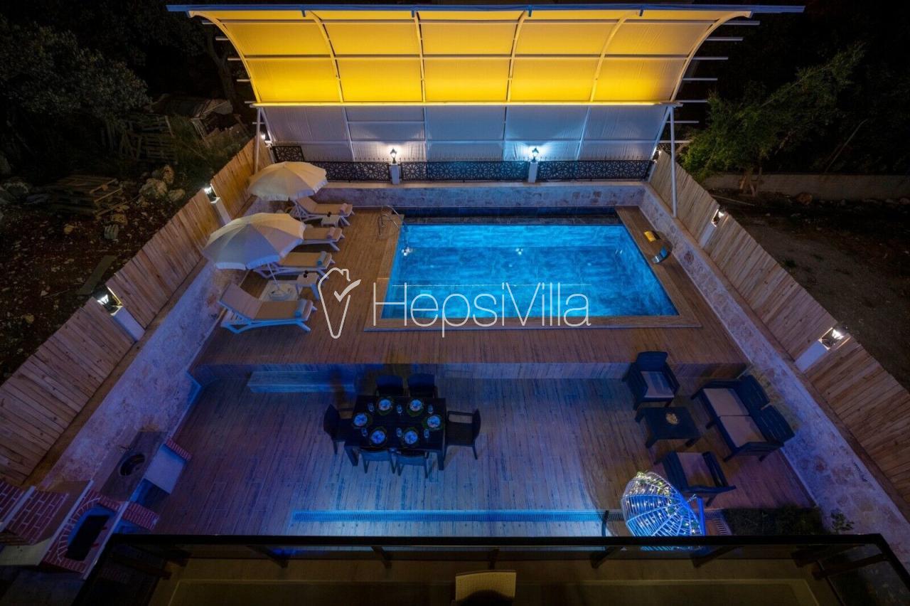 Villa Doğa Kumdağı, 7 kişilik saunalı,  jakuzili, villa - Hepsi Villa