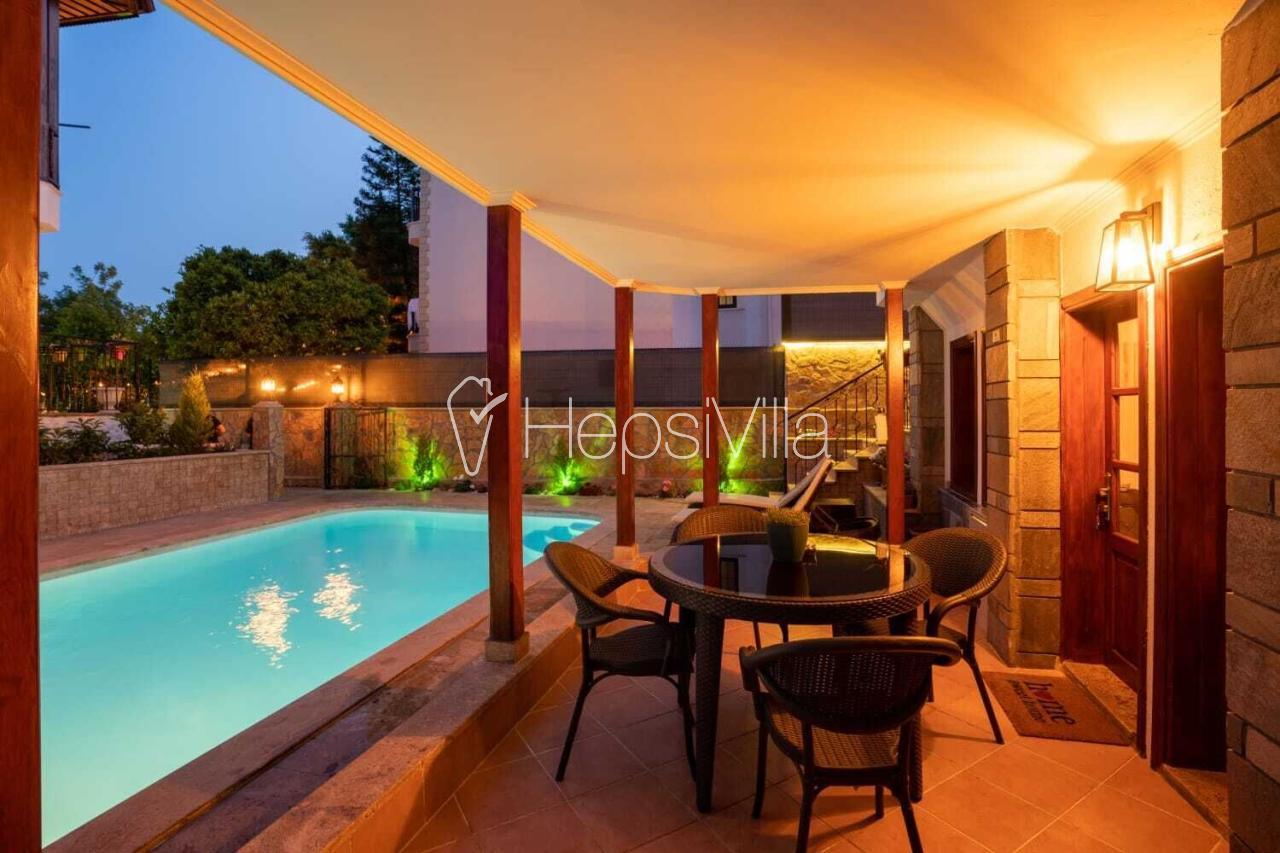 Villa Alo, Gökova Akyaka'da 4 odalı 7 kişilik havuzlu villa  - Hepsi Villa
