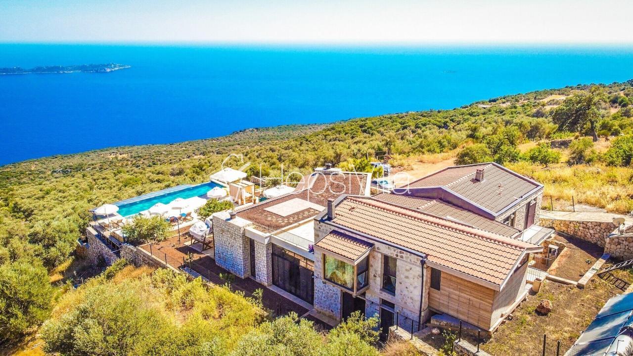 Villa Silver House, Kaş'da Meis Adası karşısında sakin lüks villa - Hepsi Villa