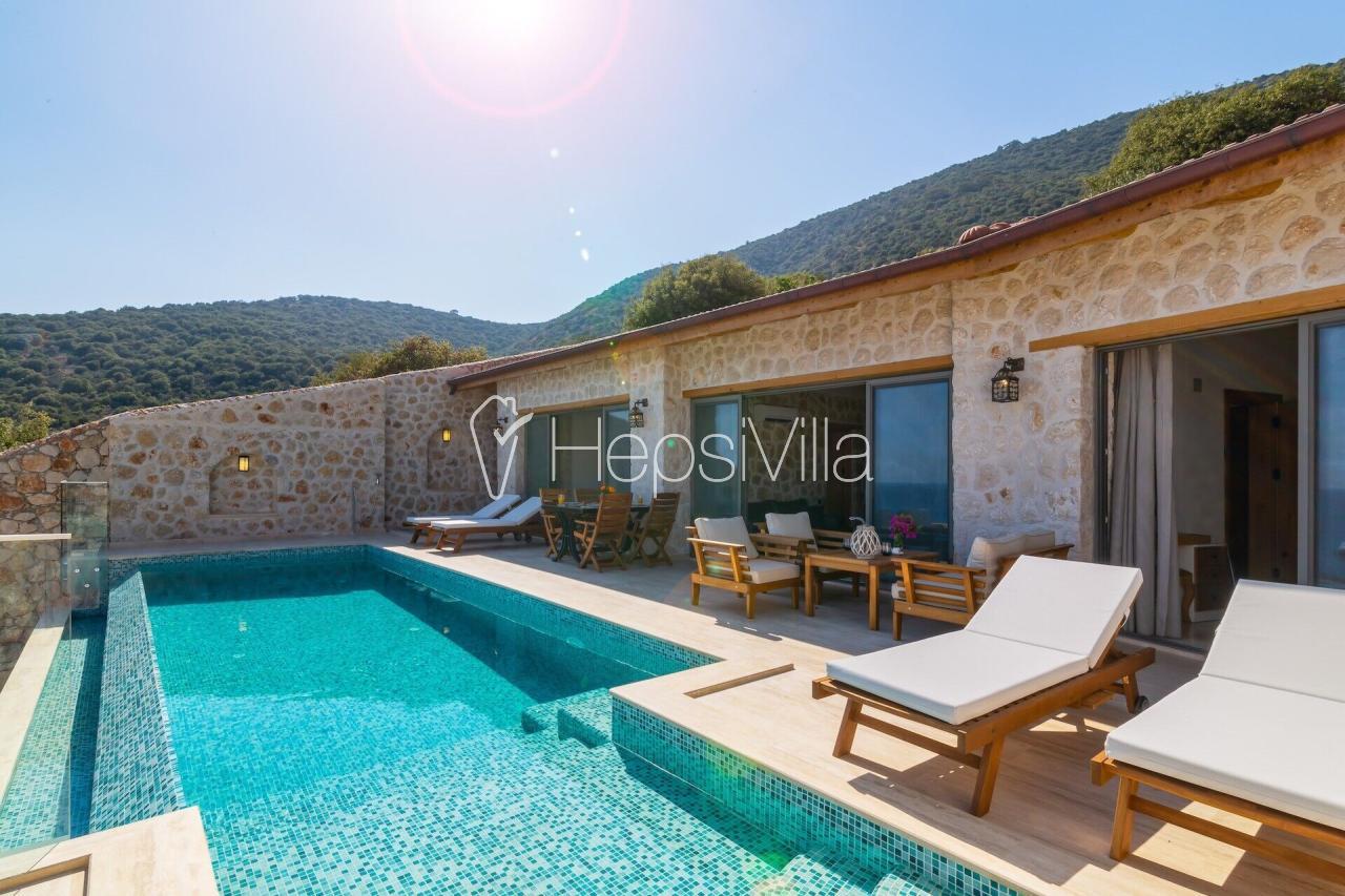 Villa Kalamar Beach 2, Kalamar'da 4 Kişilik Müstakil Havuzlu Lux  - Hepsi Villa