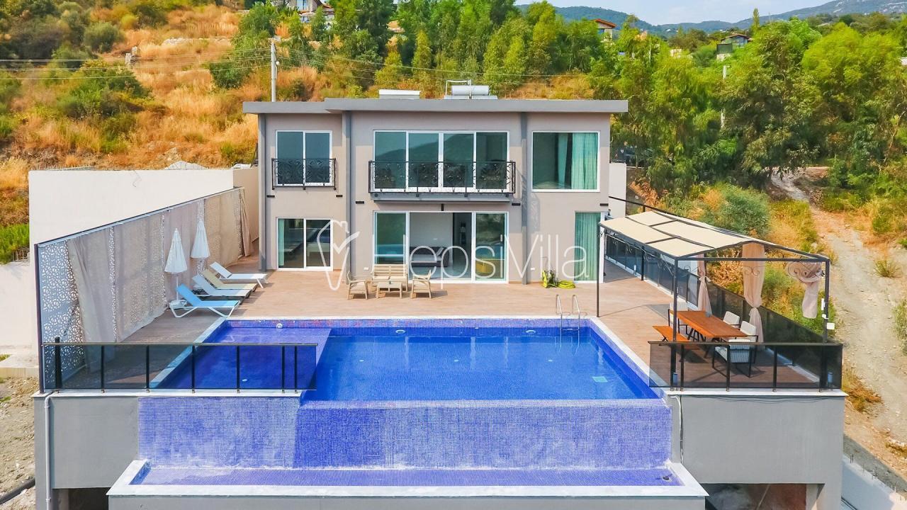 La Villa Celine, Kalkan İslamlar'da 6 Kişilik Havuzlu Villa - Hepsi Villa