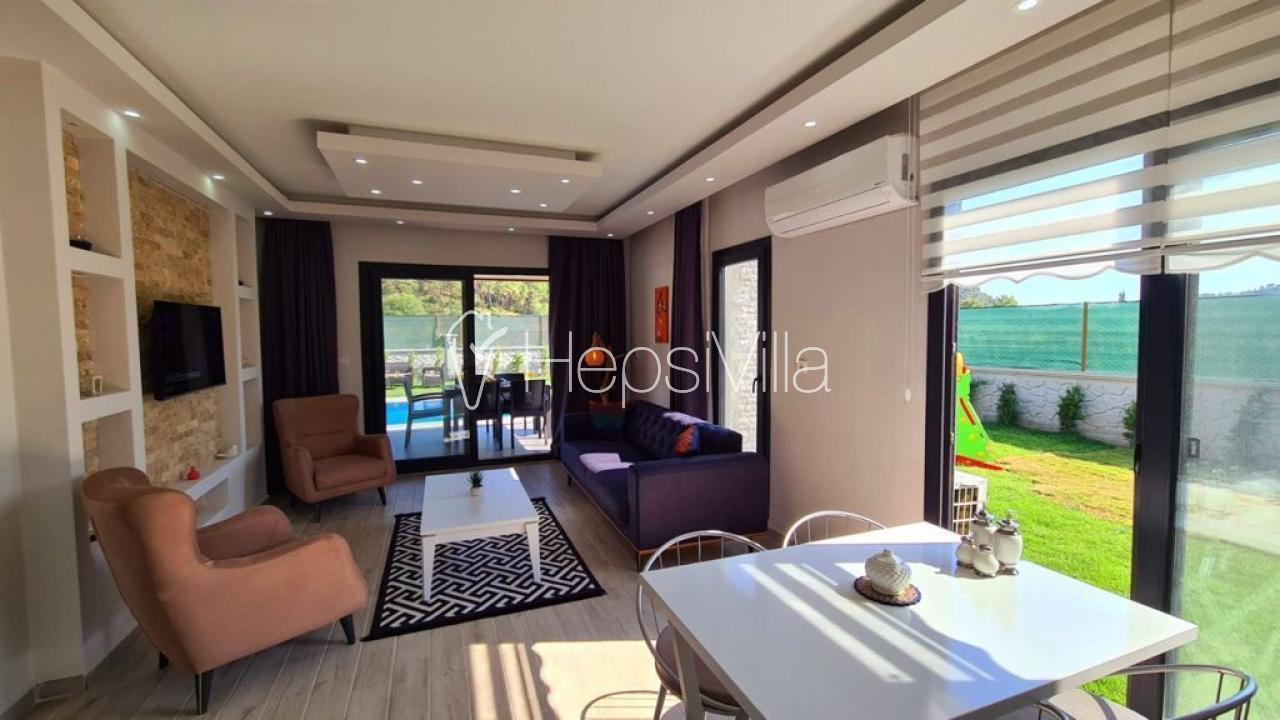Villa Seren 2, Fethiye Göcek'te 4 Kişilik Özel Havuzlu Villa - Hepsi Villa