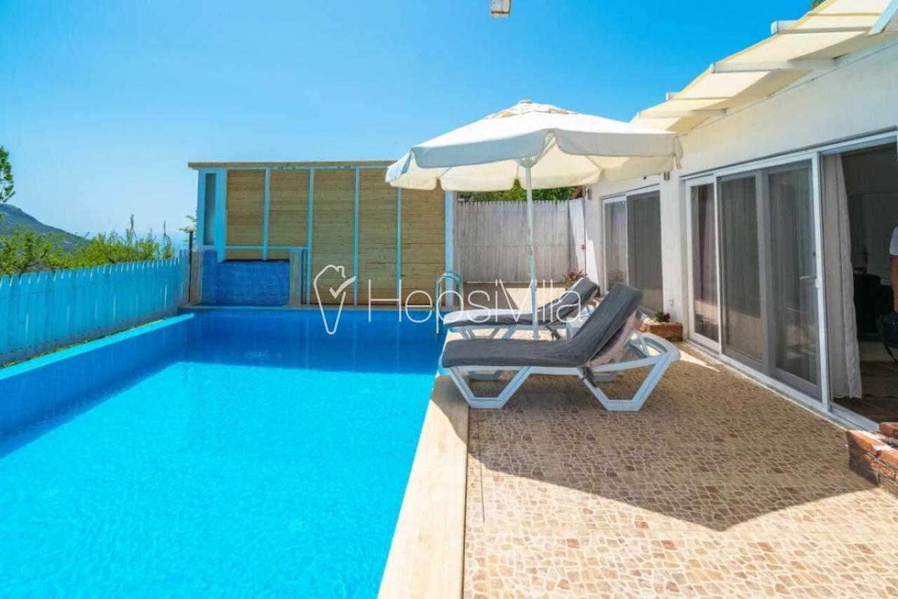 Kalkan İslamlarda 2 Yatak Odalı Kiralık Villa Aruba - Hepsi Villa