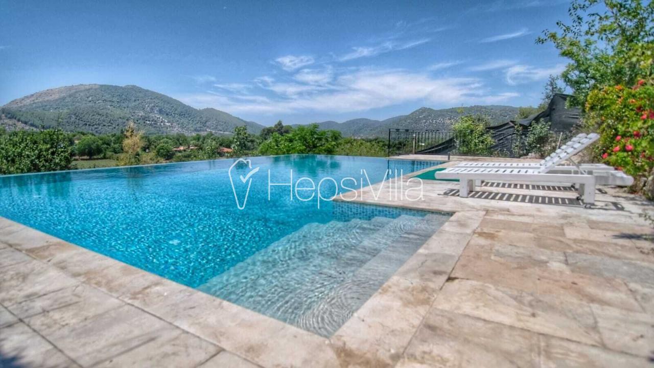 Fethiye Kayaköyde 4 Odalı Kiralık Yazlık Villa Yasemin - Hepsi Villa