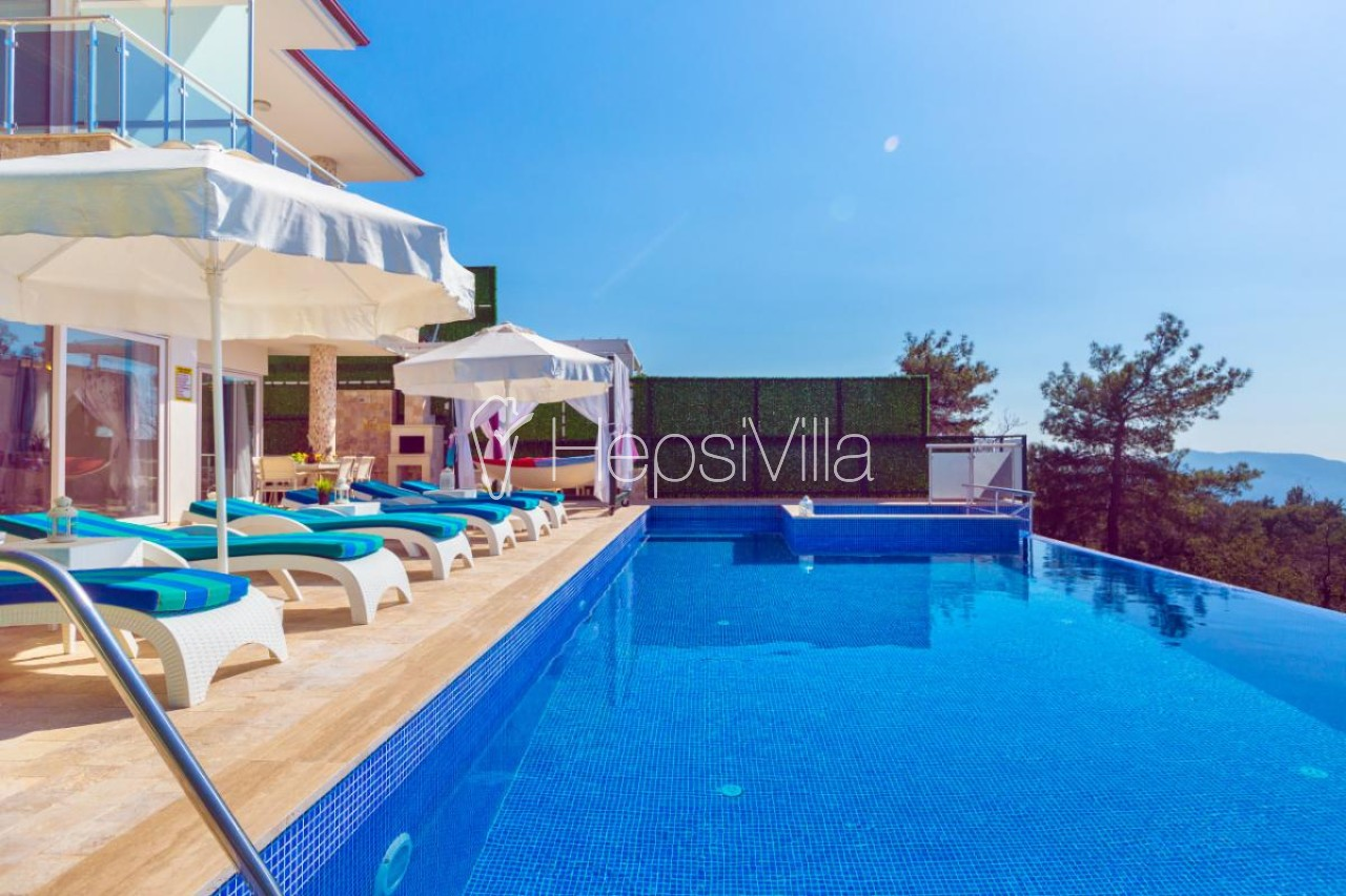 Villa Almira, Kalkan İslamlarda 3 Yatak Odalı Muhafazakar Villa - Hepsi Villa