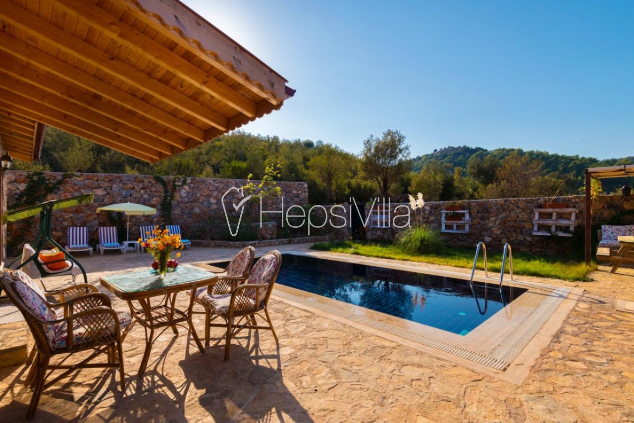 Villa Meryem, Fethiye Kayaköy Kınalı Mevkiinde Yazlık Villa - Hepsi Villa