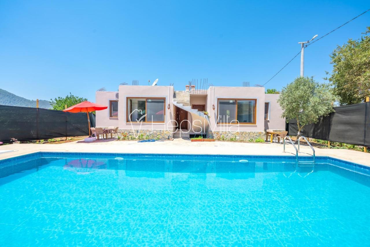 Kaan Evi, Fethiye Kayaköy'de 4 Yatak Odalı Kiralık Villa - Hepsi Villa