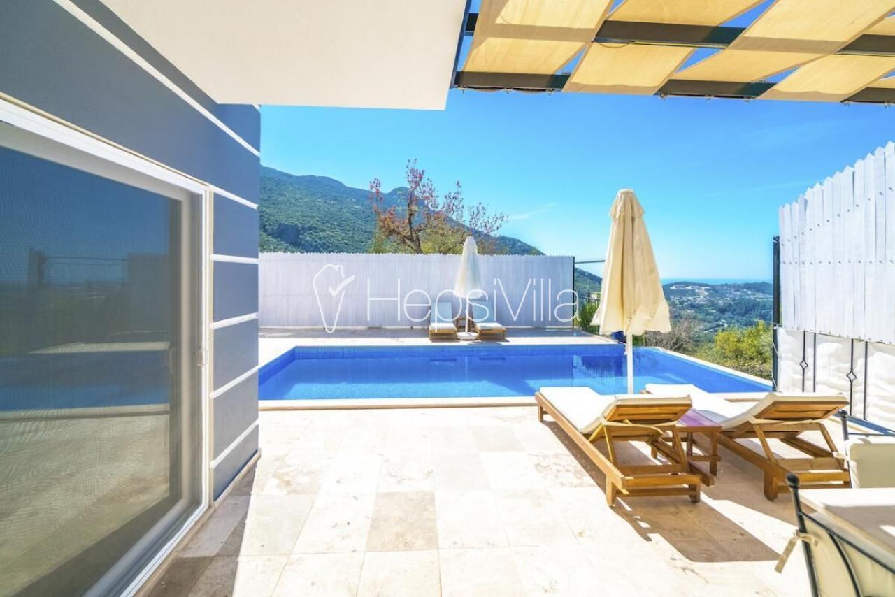 Villa Serin, Kalkan İslamlarda 3 Yatak Odalı Korunaklı Villa. - Hepsi Villa