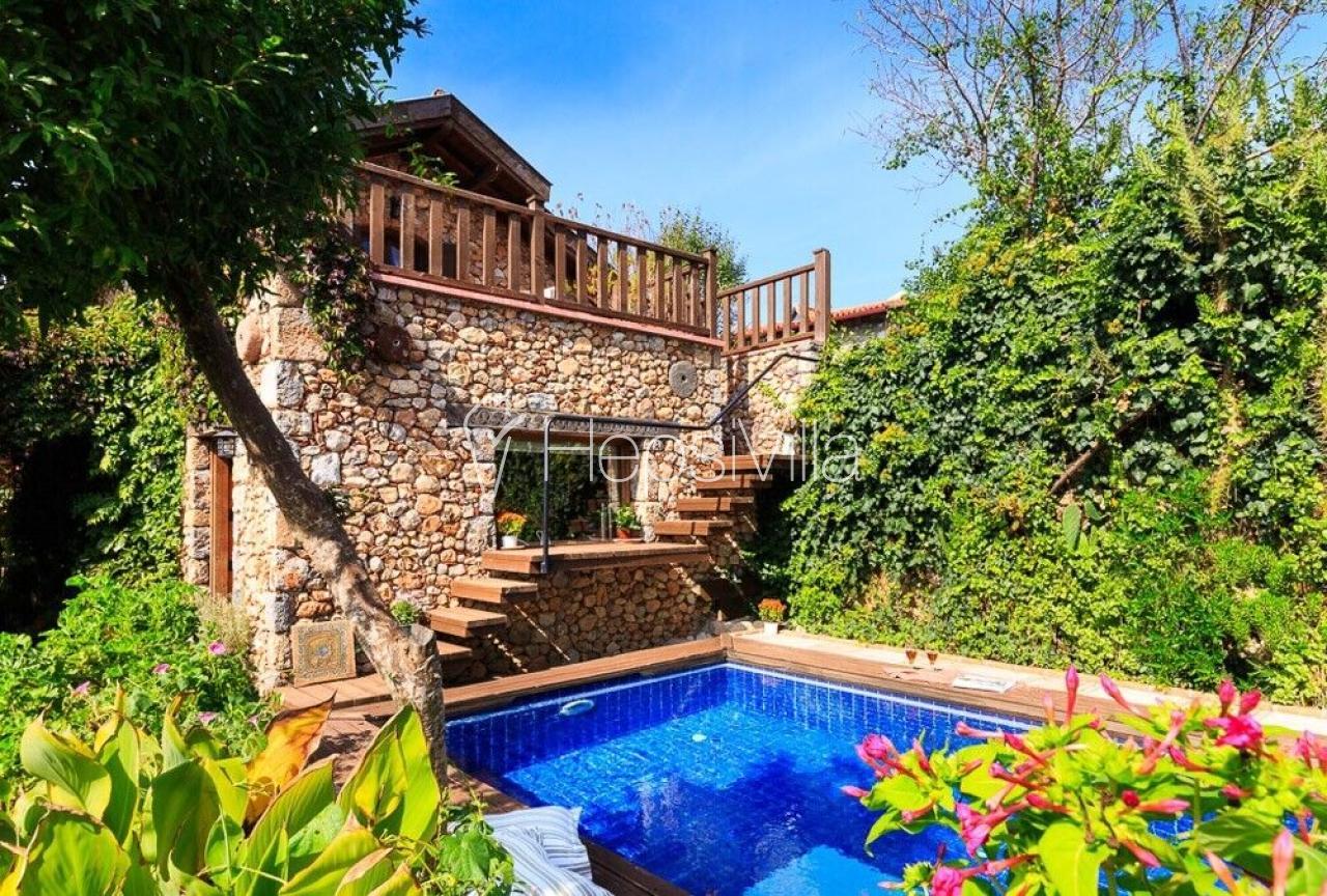 Levissi Lodge, Kayaköy'de Harika Muhafazakar Balayı Tatil Villası - Hepsi Villa