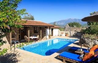 Tangala Evi, Fethiye Kayaköy'de 1 Yatak Odalı Kiralık Villa