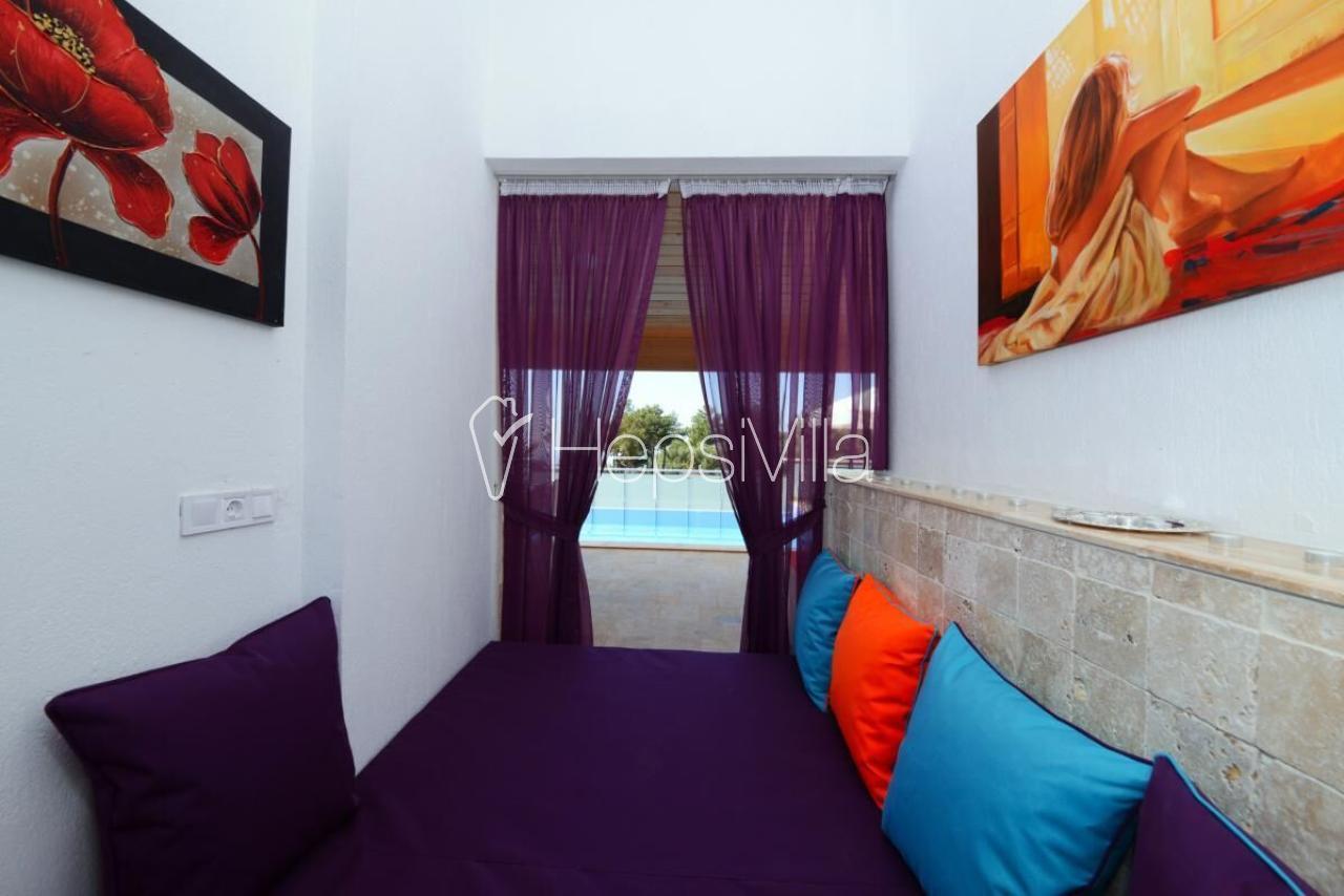 Villa Şirin Harika 1 Odalı Jakuzili Balayı Tatil Villası - Hepsi Villa