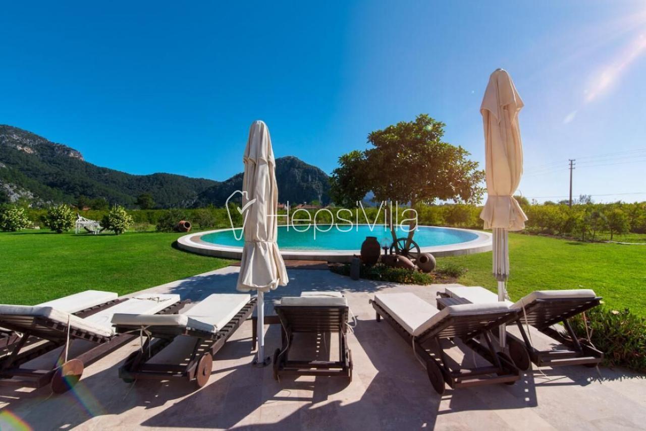 Villa Beyaz Galeri, Dalyan'da Ultra Lüks 4 Odalı Özel Villa - Hepsi Villa