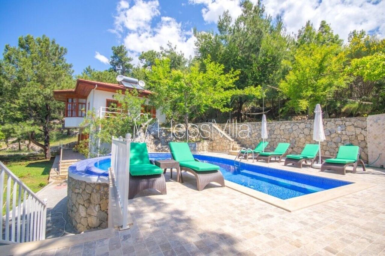 Villa Konak, Havuzu Korunaklı Lüks Muhafazakar Tatil Evi. - Hepsi Villa