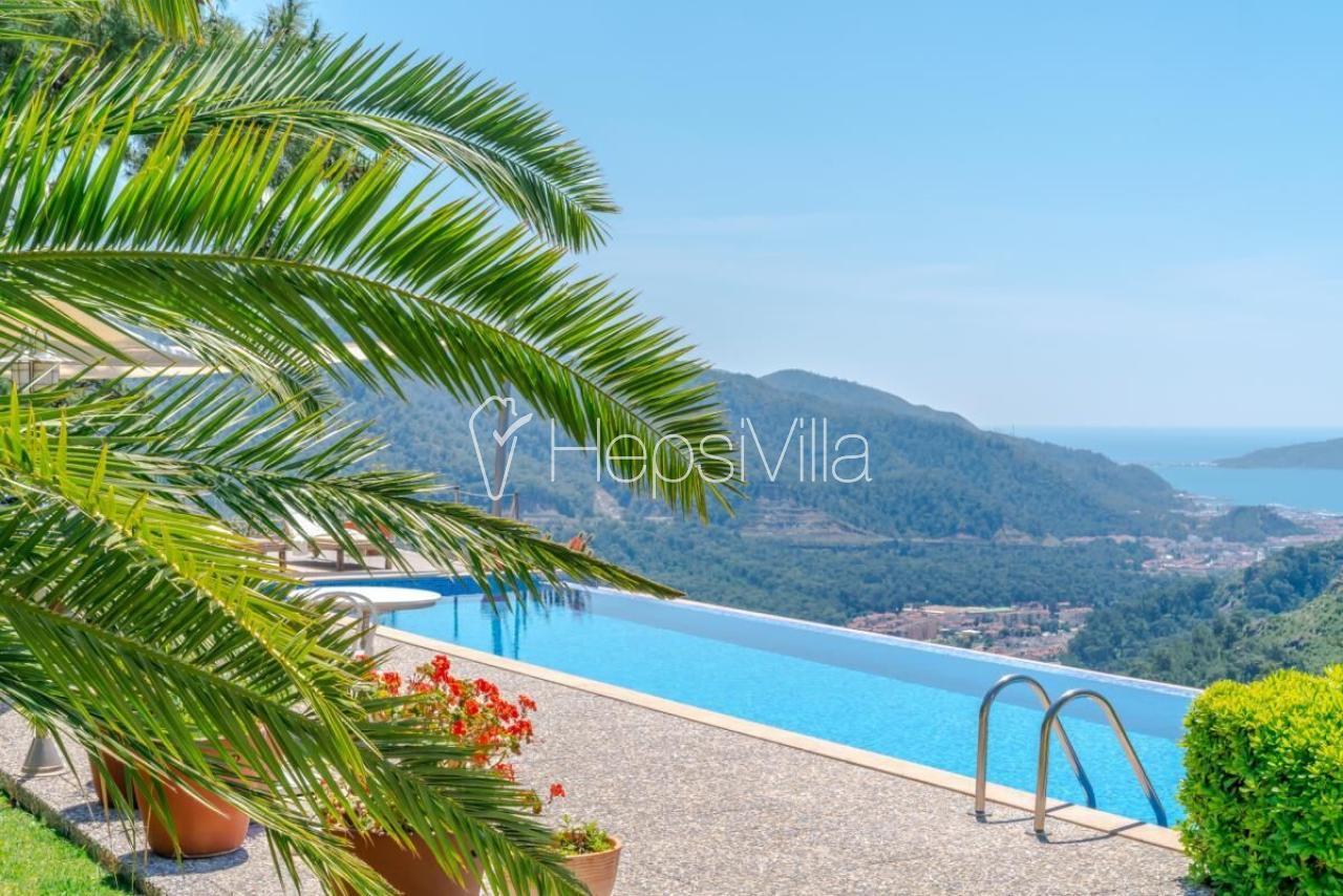 Villa Pamco, Marmaris'te 3 Odalı Ultra Lüks Deniz Manzaralı Villa - Hepsi Villa