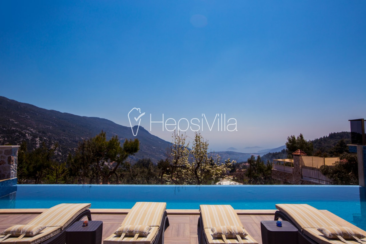 Villa Amare Ultra Lüks 2 Odalı Isıtmalı Havuzlu Villa. - Hepsi Villa
