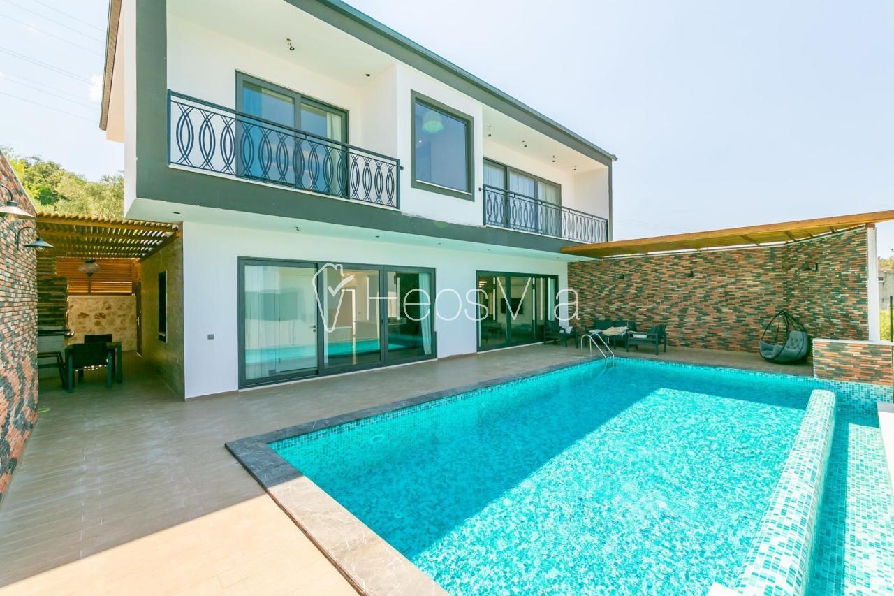 Hayal Evi, 1 Yatak Odalı Sauna  Havuzlu Balayı Tatil Villası - Hepsi Villa