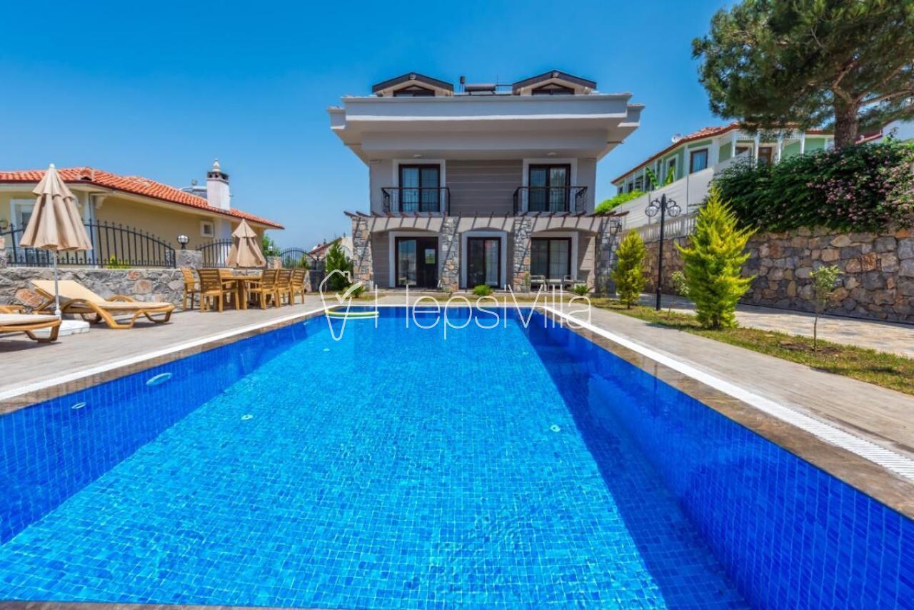 Villa Olivya Ölüdeniz2de 5 Odalı Özel Havuzlu Kiralık Villa - Hepsi Villa