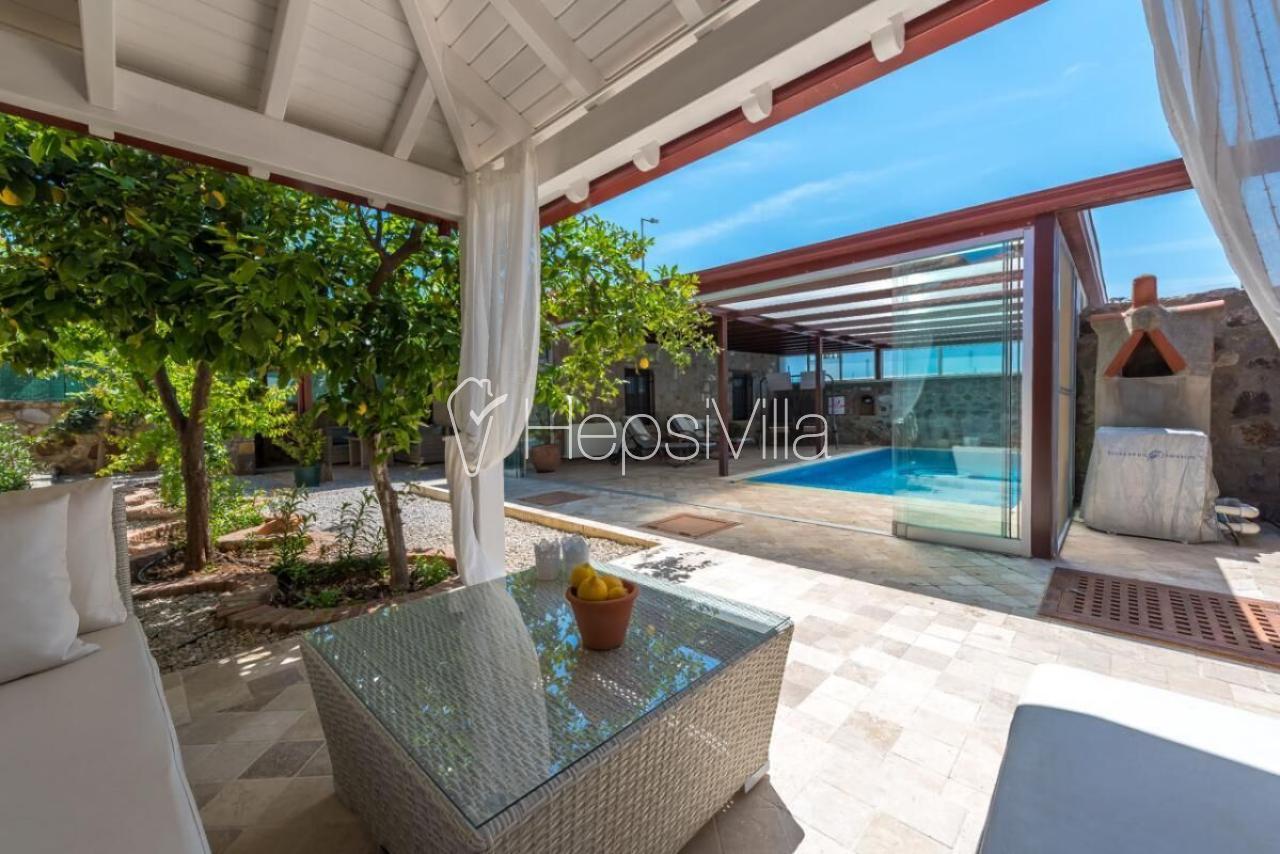 Villa Jade, Bodrumda Isıtmalı Yüzme Havuzuna Sahip Kiralık Villa. - Hepsi Villa