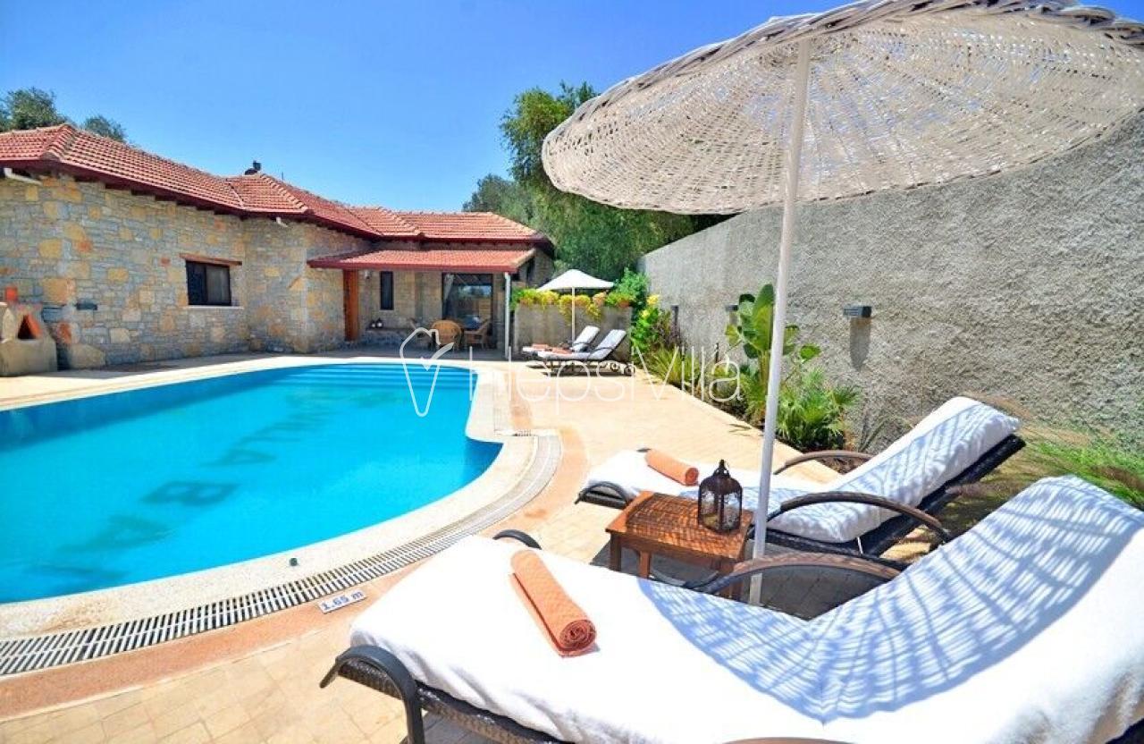 Villa Bambu, Bodrum'da 2 Odalı Özel Havuzlu Yazlık Villa. - Hepsi Villa