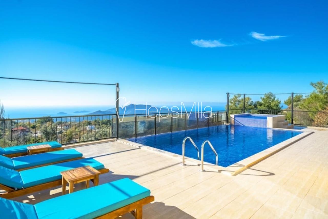 Muhafazakar Ailelere havuzu korunaklı islami tatil villası. - Hepsi Villa
